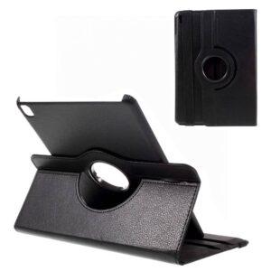 iPad Pro 9.7 hoes 360 graden roteerbaar Litchi Leder zwart