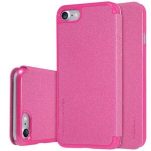 Sprankelende zeer dunne roze kwaliteitshoes voor de iPhone 7