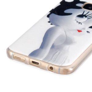Betty boob lookalike TPU hoesje Samsung Galaxy S7