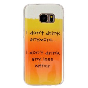 I don't drink anymore TPU hoesje Samsung Galaxy S7