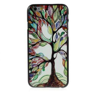 Kleurrijke boom iPhone 6 hardcase