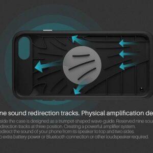 Zwart Amp TPU Case iPhone 8 Plus / 7 Plus