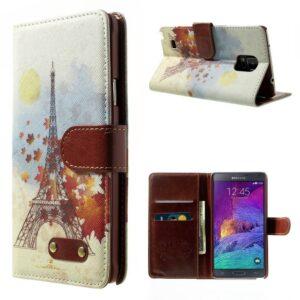 eifeltoren herfst portemonnee hoesje Note 4