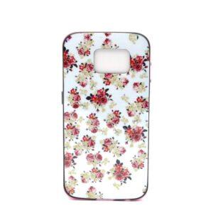 Roosjes print flexibel Samsung Galaxy S6 hoesje