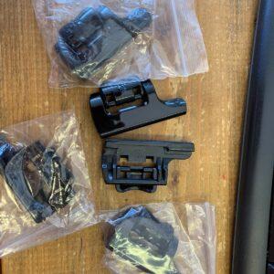 Voor Gopro Accessoires Plastic Backdoor Clip Lock Gesp Snap Klink voor Go pro Hero 2  Camera Cam Waterdichte Behuizing Case Shell