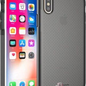 Schokbestendig iPhone X Bumper Hoesje Zwart
