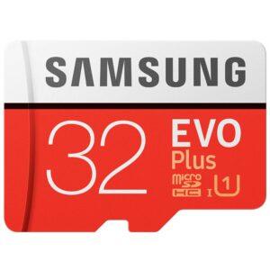 32GB microSD SDHC kaartje EVO plus