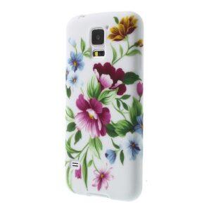 Bloemen TPU hoesje Samsung Galaxy S5
