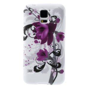 Lotus bloem Galaxy S5 TPU hoesje
