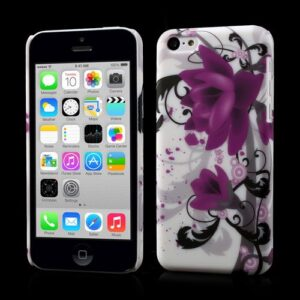 Paarse lotus iPhone 5C Hardcase hoesje