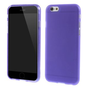 Paars TPU hoesje iPhone 6