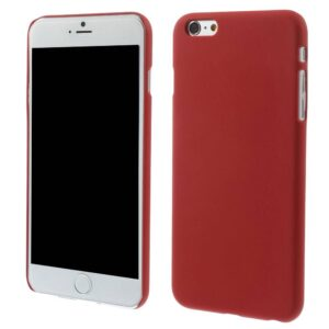 Rood effen iPhone 6 Plus hardcase