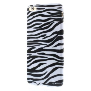 Zebra print iPhone 6 plus TPU hoesje