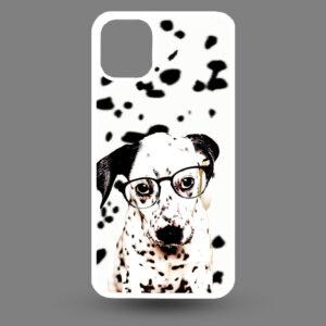 iPhone 11 Pro – Dalmatier pup met bril