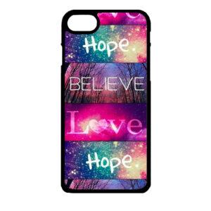 iPhone 7 en iPhone 8 – Believe Love Hope