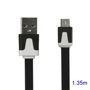 Noodle 1meter Micro USB Data en oplaad kabel