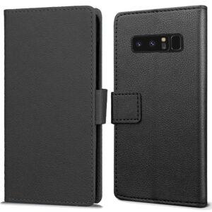 Zwarte wallet hoesje Samsung Note 8
