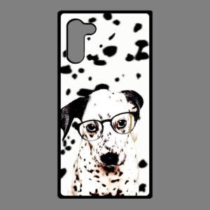 Samsung Galaxy Note 10 – Dalmatier pup met bril