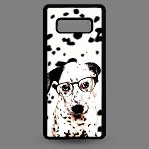 Samsung S10e – Dalmatier pup met bril