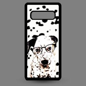 Samsung S10+ Dalmatier pup met bril