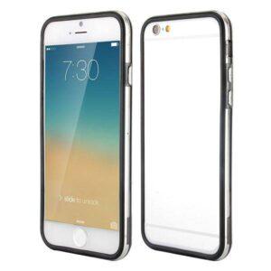iPhone 6 bumper zwart/transparant