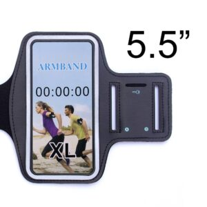 Sport armband 5.5 inch – paars