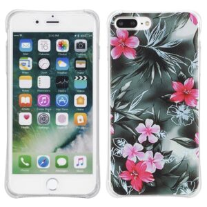 Bloemen Iphone 7 plus flexibel hoesje