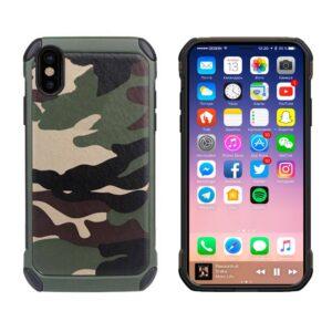 Hardcase Camouflage print iPhone X