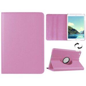 Roteerbare hoes iPad mini 4 – Roze