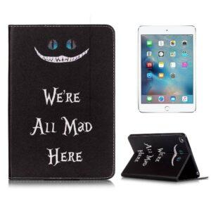 iPad mini 4 boekstijl hoes, We're all mad here