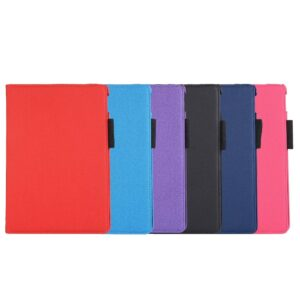 iPad pro 10.5 Roteerbare hoes met elastieke sluiting in zwart
