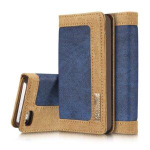 iPhone 5, 5s, SE Portemonnee hoesje blauw