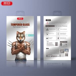 0.26mm FULL COVER iPhone X tempered glass screenprotector