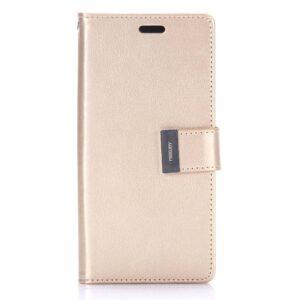 Gouden samsung Galaxy S8 portemonnee hoesje