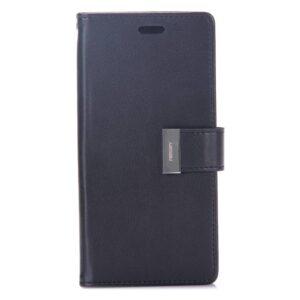 Zwarte samsung Galaxy S8 portemonnee hoesje