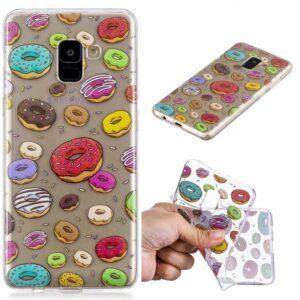 Samsung Galaxy S9 TPU hoes Vrolijk Donuts motief