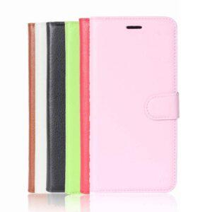 Kunstlederen Samsung galaxy S9 PLUS hoesje Roze