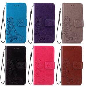 Blauwe Vlinder en klimop voor de Galaxy S9 plus in diverse kleuren verkrijgbaar