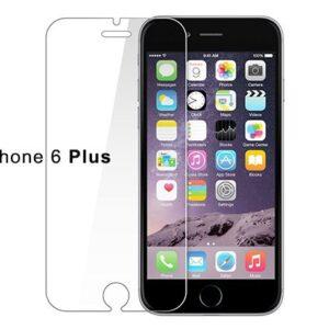 Set van 2 Tempered glass screenprotector iPhone 6 (S) Plus